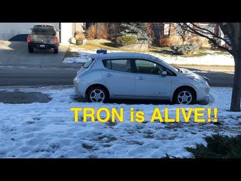 Tron is Alive - Our Leaf lives after 84000KMs!!