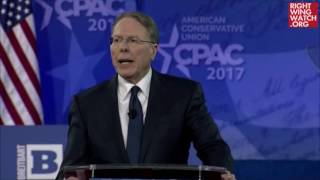 Wayne LaPierre Longs For The Days When Those Who Leaked Gov't Info Were 'Hanged For Treason'