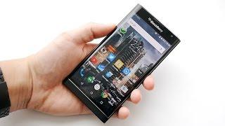 Обзор BlackBerry Priv (review)