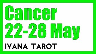 ❤️ LOVE AFFAIR Cancer Weekly Reading 22 - 28 May 2017