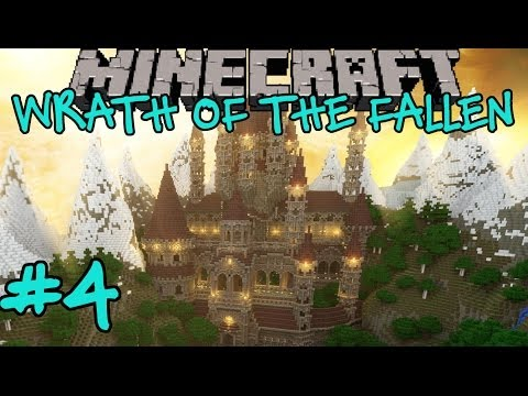 Minecraft: Wrath of the Fallen Custom Adventure Map Part 4