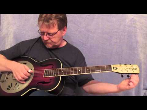 Gretsch Alligator Biscuit Bridge Resonator Review   slide blues guitar Music Videos