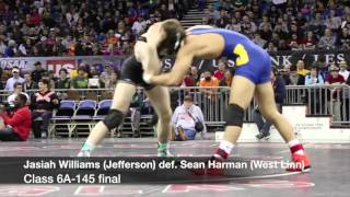 Watch: Every 6A final from the 2016 Oregon high school wrestling state championships