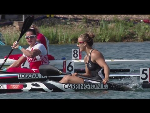 Canoe Sprint Kayak Single (K1) 200m Women Finals - London 2012 Olympic Games