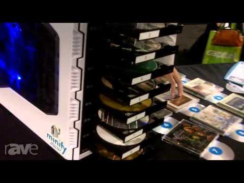 CEDIA 2013: MinifyMusic Showcases its Portable CD Transformation Box
