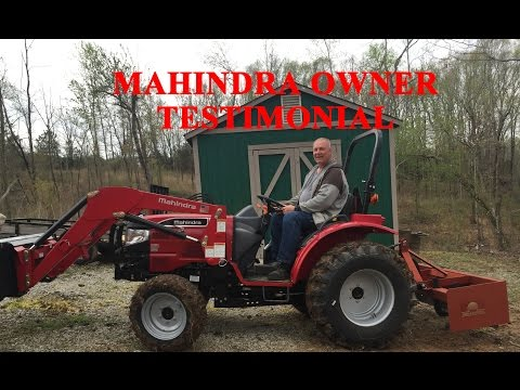 Mahindra Testimonial