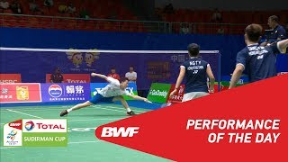 TOTAL BWF SUDIRMAN CUP 2019 | Performance of the day | Day 2 | BWF 2019