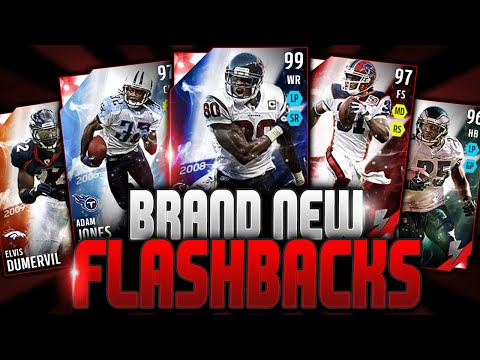 OMG! 99 ANDRE JOHNSON! | BRAND NEW FLASHBACKS! | MUT 16 FLASHBACK OPENING