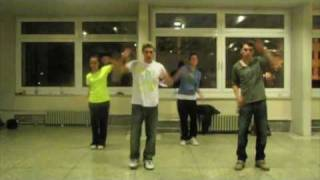 Michael Jackson Flashmob Dance Tribute - Ankara (dance steps) part1