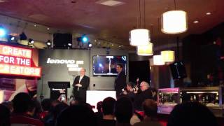 #CES Presentation of IdeaCentre A720 by Lenovo