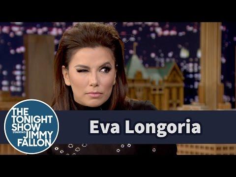 Eva Longoria Helps Jimmy Perform a Perfect Telenovela Moment