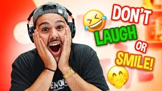 Try Not To Laugh OR Smile Challenge!