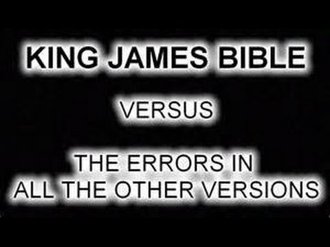 Why use the King James Version KJV of the Bible