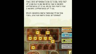 Professor Layton and the Last Specter - Puzzle 130