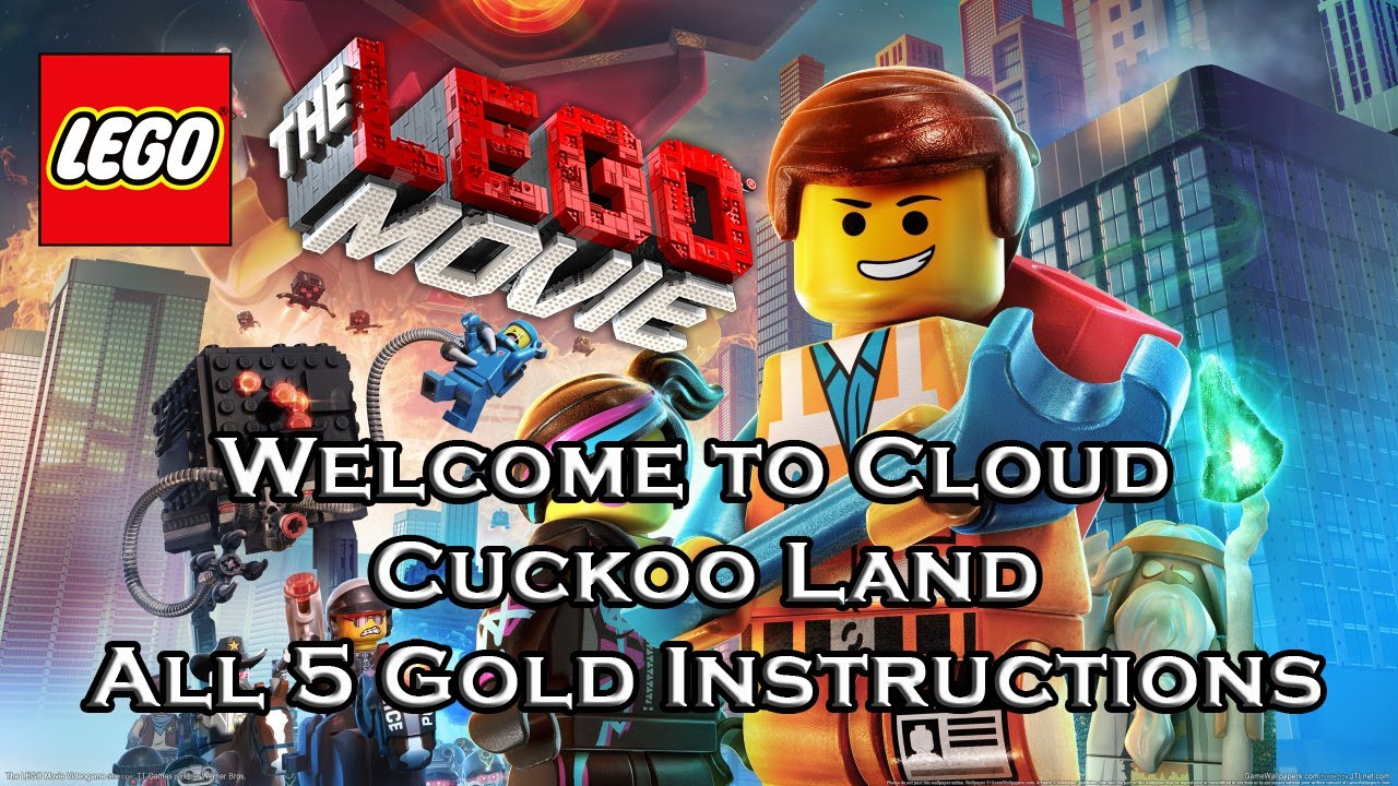 lego movie all gold instructions