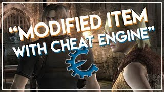 Resident Evil 4 PC | Modified Item and Weapon with Cheat Engine 2018