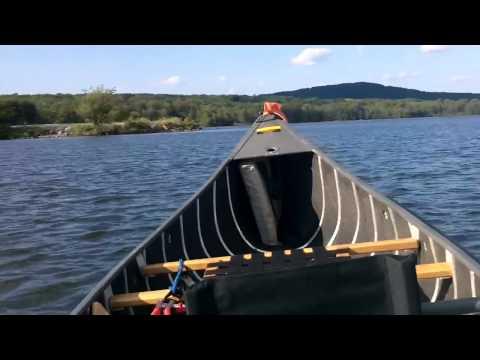 Trolling motor canoe