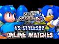Super Smash Bros Wii U - Online Matches VS StylesX2