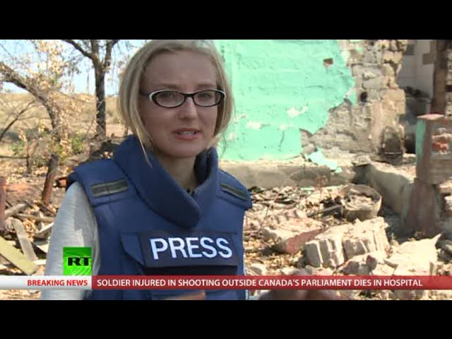 NewsTeam: Ukraine homes & lives destroyed by bombings (E49)
