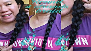 Round 4 Strands Braid/Hair Tutorial