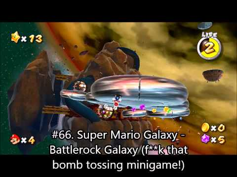 Top 100 Super Mario Music Part 4 (70-61) #1