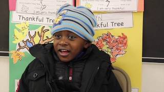 West Englewood students share what they are thankful for
