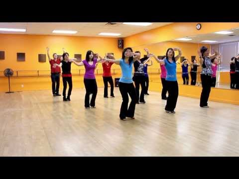 Mama Makossa - Line Dance (dance & Teach In English & 中文) video