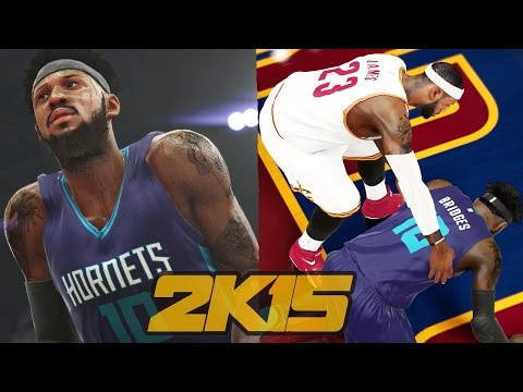 NBA 2k15 MyCAREER Gameplay Playoffs - ECSF1 LeBron James Helps Bridges + TRADE TALK