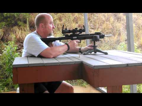 Bench Shooting the Mech Tech CCU for 9mm Glock 19 Part 1
