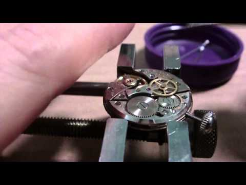 How I assemble a wrist watch. Bulova 10BUC. Part 2 of 2