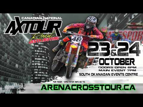 2015-10-24 Monster Energy Canadian National Arenacross Tour - More Racing Today!