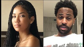 Jhene Aiko BEGGlNG Ex Big Sean To Get W/ Her & He lGNORES It!