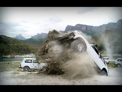 УАЗ Патриот Vs Chevrolet Нива и Красотка Надежда, Офф Роад по Горячему Апрельскому Снегу,часть 2