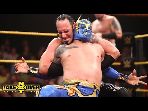 The Ascension Vs. Sin Cara & Kalisto - Nxt Takeover: Fatal 4-way, Sept. 11, 2014 video