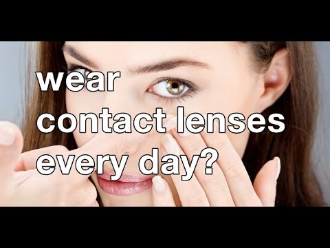 how long can you safely wear contact lenses? youtube
