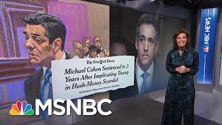President Donald Trump Tells Close Friends He Fears Impeachment | Velshi & Ruhle | MSNBC
