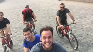 Five Americans go to China