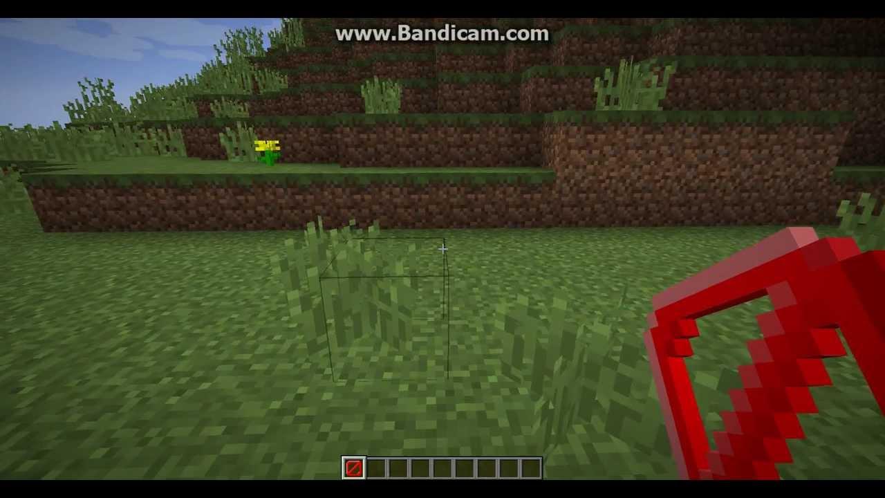 Как сделать невидимый блок (барьер) на Minecrafte