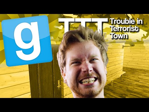 GMod TTT - Most Dangerous Ticket Office (Garry's Mod Trouble In Terrorist Town)