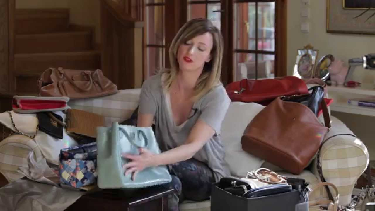 Przechowywanie torebek | Ula Pedantula #6 - YouTube
