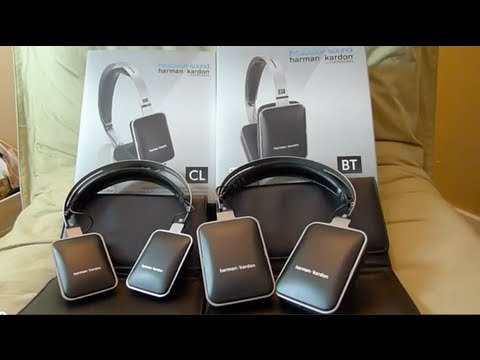harman/kardon by HARMAN Classic CL vs. BT headphones comparison review