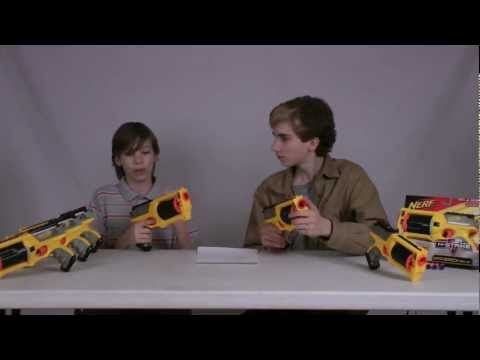 Nerf Maverick REV-6 Review - Nerf Socom Reviews