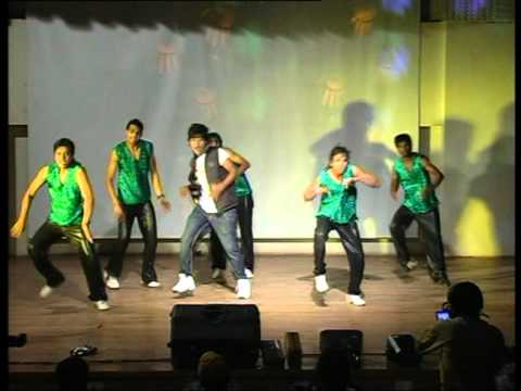 Wolk N Roll Vijay Rao Dance Dhan Te Nan.mpg video
