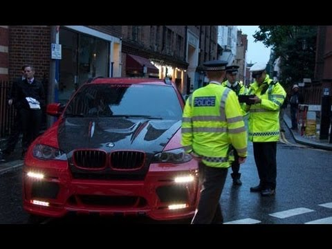 Police Seized ARAB SUPERCARS on Holidays - London !