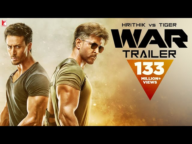 War Trailer | Hrithik Roshan | Tiger Shroff | Vaani Kapoor | 4K | New Movie Trailer 2019 thumbnail