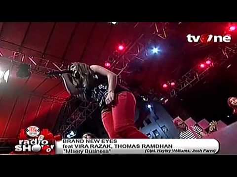 BRAND NEW EYES  tribute to PARAMORE @RadioShow_tvOne