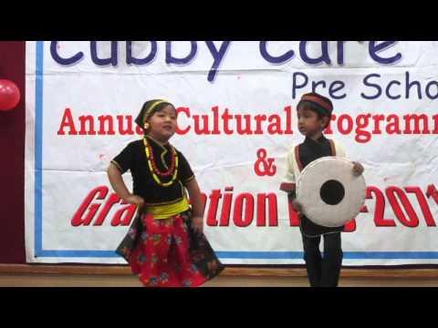 Nepali Children Dancing Dama Dama Dam Damphu Song
