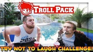 DO NOT LAUGH HELIUM BALLOON CHALLENGE (WARNING: MILK SPITTING AHEAD)