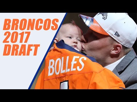 Denver Broncos Draft Results 2017 Reupload