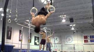 Play 1960 Olympics Gymnastics Albert Azarian High Bar